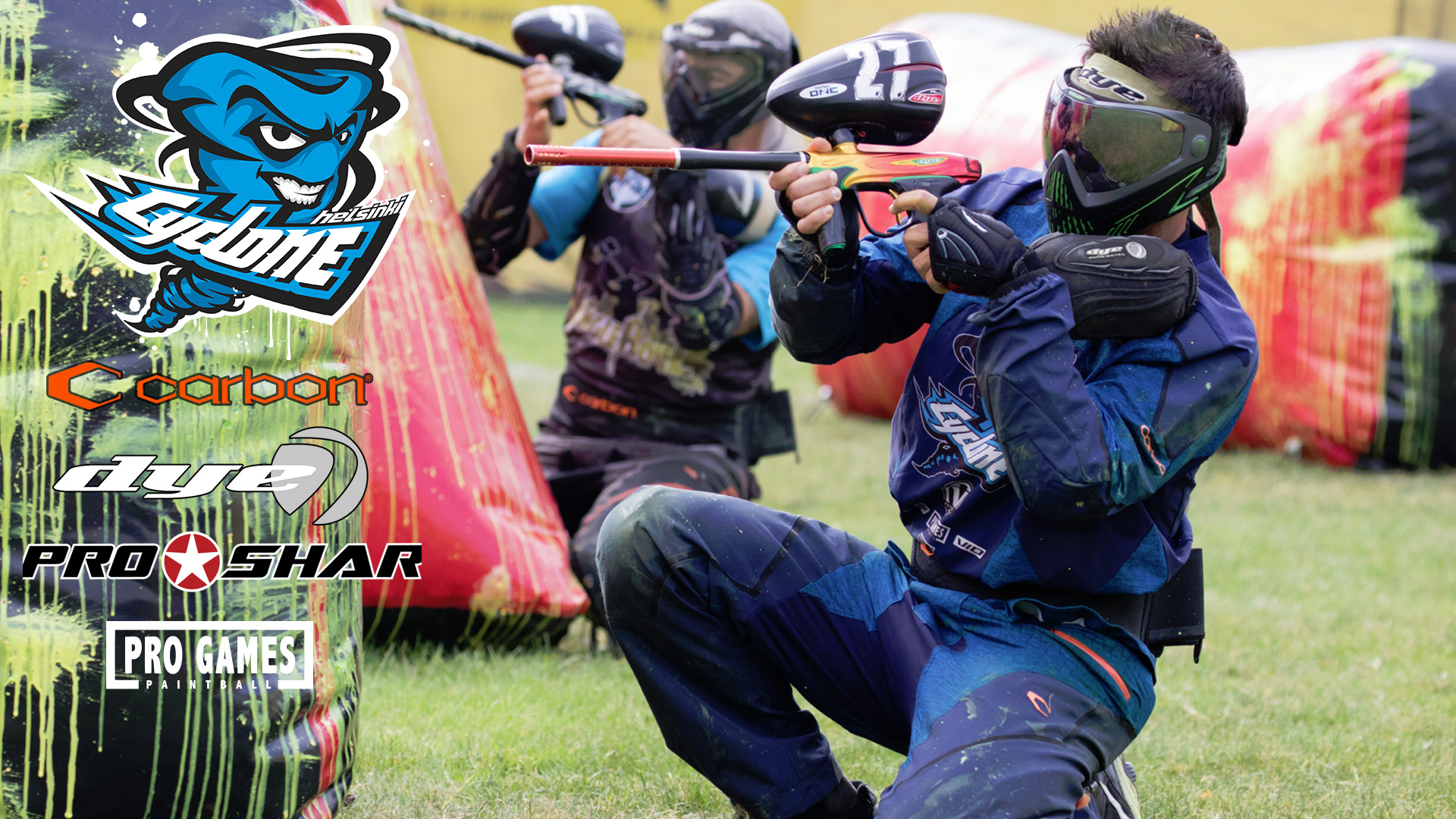 Helsinki Cyclone Paintball Team @1996